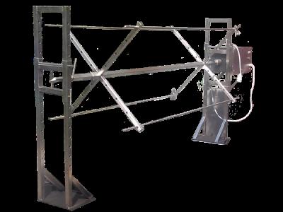 Крестообразный вертел для мангала