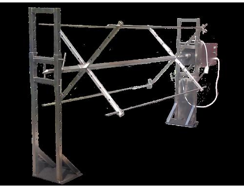 Вертел с электроприводом для мангала до 100кг
