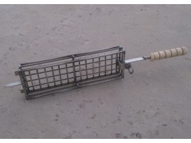 Шампур с решеткой для Крученя