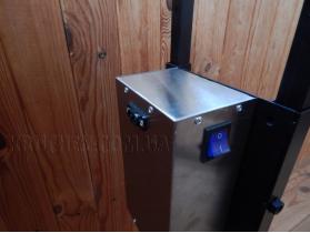 Вертел с электроприводом для мангала до 10 кг