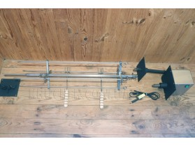 Крестообразный вертел для барбекю до 25 кг